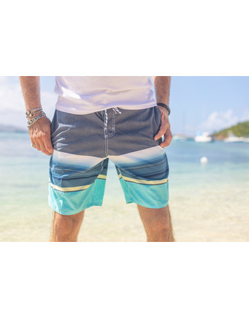 RS Surf RS Surf Board Short Navy/BLU/AQ