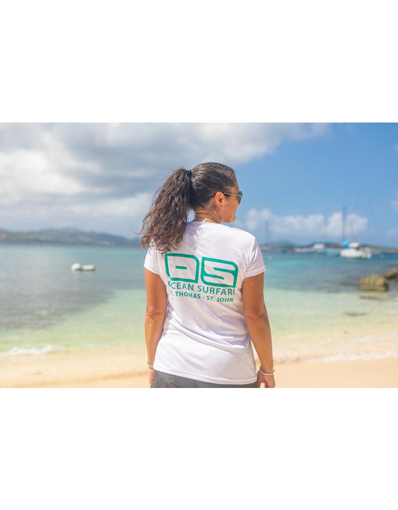 Ocean Surfari OS SPF 50+ Performance Lad SS White