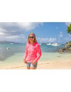 Ocean Surfari OS SPF 50+ Performance Lad LS Neon Pink