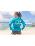 Ocean Surfari OS SPF 50+ Performance Lad LS Teal