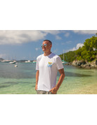 Ocean Surfari OS SPF 50+ Performance Men's SS VI Flag