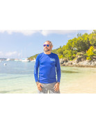 Ocean Surfari OS SPF 50+ Performance Men's LS Royal
