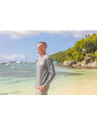 Ocean Surfari OS SPF 50+ Performance Men's LS Silver