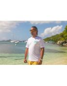 Ocean Surfari OS SPF 50+ Performance Men's SS White