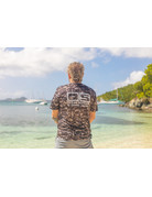 Ocean Surfari OS SPF 50+ Performance Men's SS Digi Camo Black