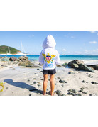Ocean Surfari OS SPF 50+ Performance Youth Hoodie VI Flag