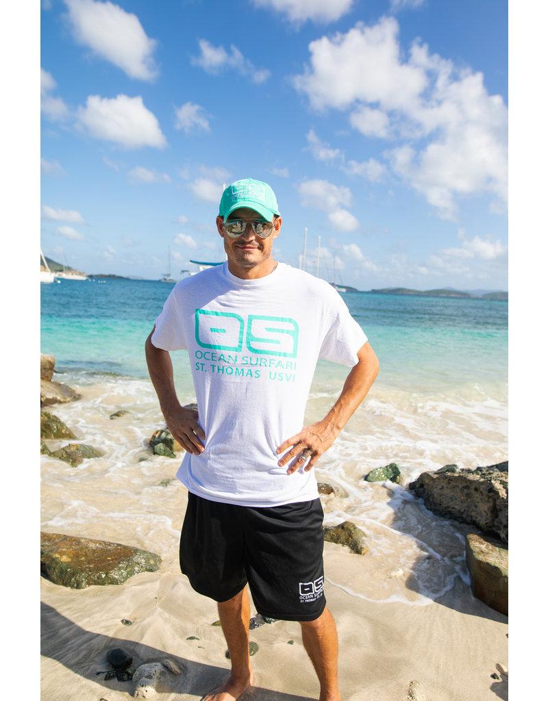 Ocean Surfari Hat/Shirt Combo Seafoam/White