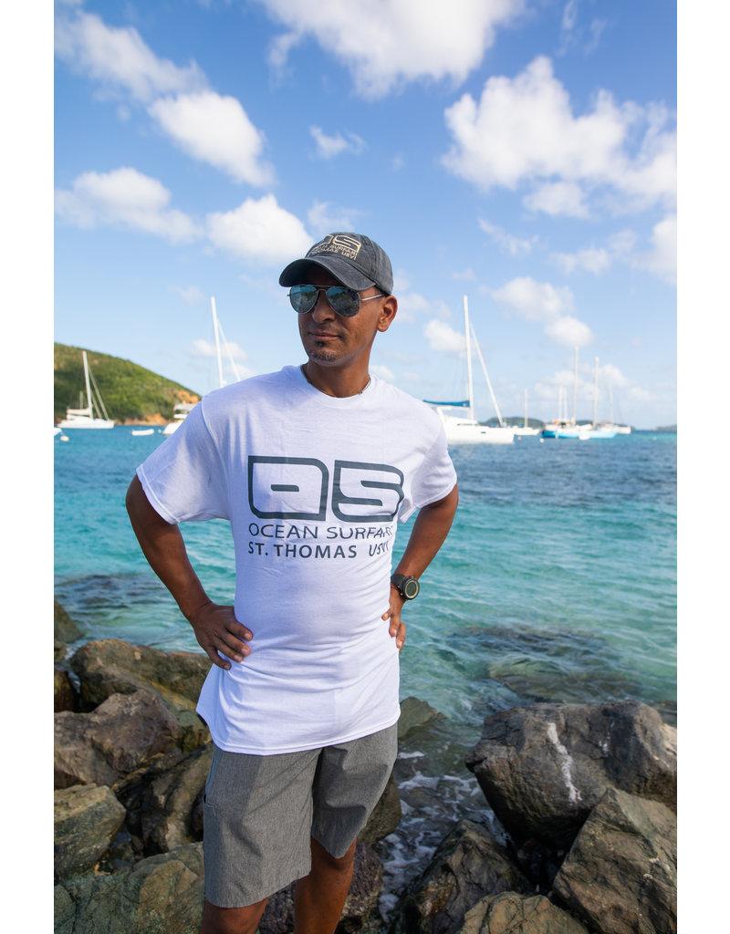 Ocean Surfari Hat/Shirt Combo Grey / White