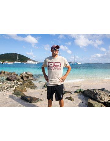 Ocean Surfari Hat/Shirt Combo Burg / Sand