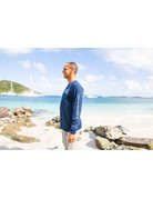 Ocean Surfari OS SPF 50+ Performance Men's LS Navy