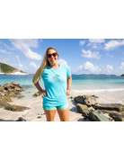 Ocean Surfari OS Missy SS Scoop Aqua Palms