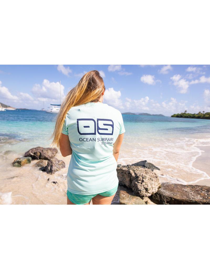 Ocean Surfari OS SPF 50+ Performance Lad SS Seafoam