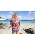 Ocean Surfari OS SPF 50+ Performance Lad SS Heather Maroon
