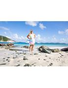 Ocean Surfari O/S Tie-Dye Razor Back Dress Multi