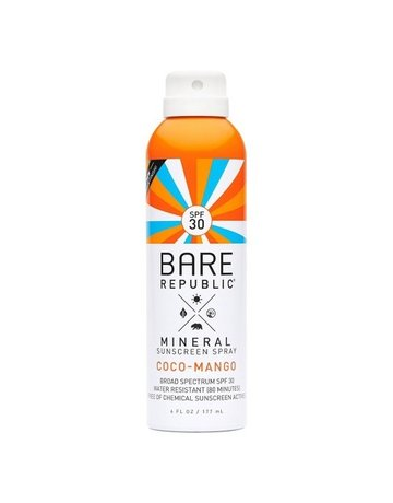 Bare Republic Bare Min. Spray 30 Coco-Mango