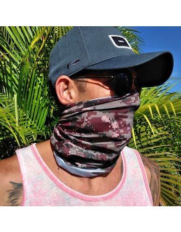 Ocean Surfari Grey Camouflage Sun Shield Buff
