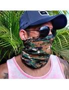 Ocean Surfari Green Camouflage Sun Shield Buff