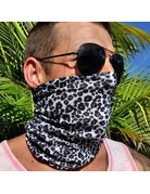 Ocean Surfari Leopard Print Sun Shield Buff