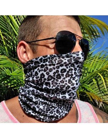 Ocean Surfari Leopard Print Sun Shield Buff