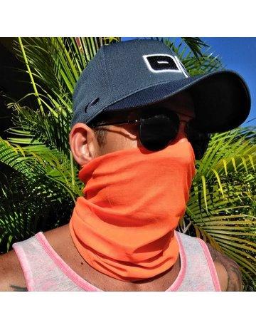 Ocean Surfari Neon Orange Sun Shield Buff