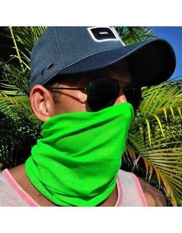 Ocean Surfari Neon Green Sun Shield Buff