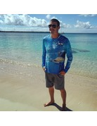 Ocean Surfari OS SPF 50+ Performance Men's LS Sailfish