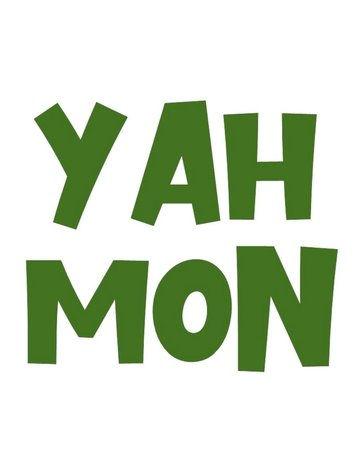 Sticker-Lishious Yah Mon Decal