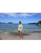 Ocean Surfari LS Cotton Misty Rainbow