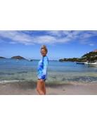 Ocean Surfari LS Cotton Blue Jerry