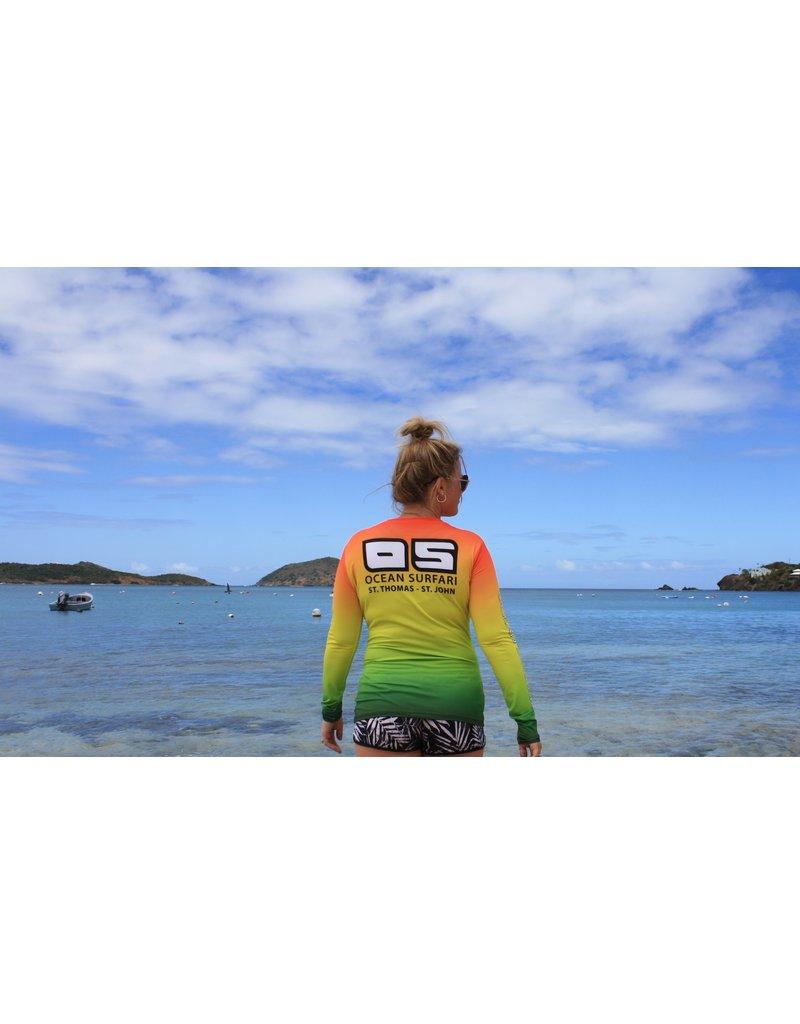 Ocean Surfari OS SPF 50+ Performance Lad LS Rasta