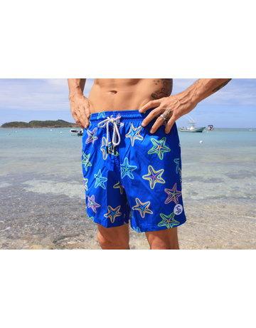 Uzzi Uzzi Swim Trunk Royal Starfish