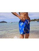 Uzzi Uzzi Swim Trunk Royal Starfish