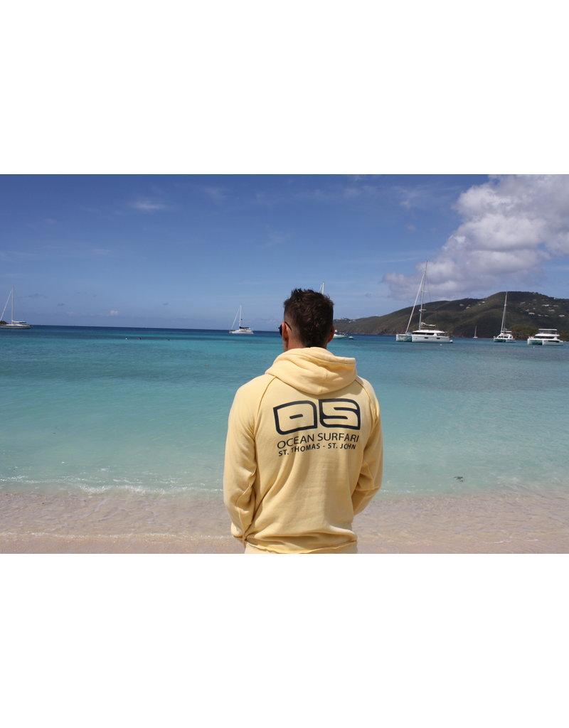 Ocean Surfari Burnout P/O Hoodie Butter