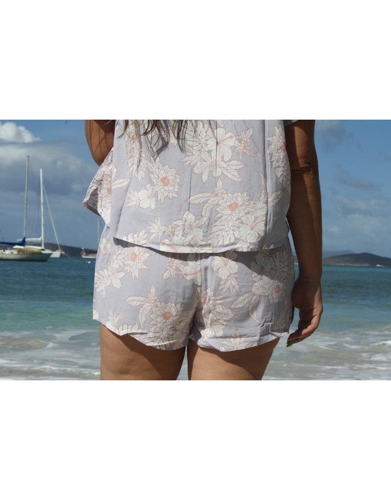 Ocean Drive Fashion Short Jasmine Tropical Print