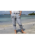 Ocean Drive Fashion Texture Pant Washed Chambray