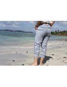 Ocean Drive Fashion Pant Washed Texture Chambray