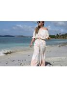 Ocean Drive Fashion Pant Soft Mauve Dip Dye