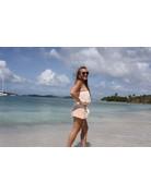 Ocean Drive Fashion Romper Soft Mauve Dip Dye