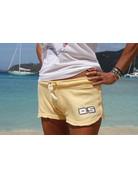 Ocean Surfari Ladies Burnout Short Butter