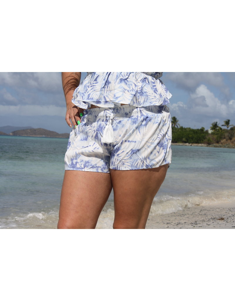 Ocean Drive Fashion Short Fiji Blue Print