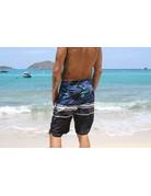 Ocean Surfari BB-B07 Board Shorts Black