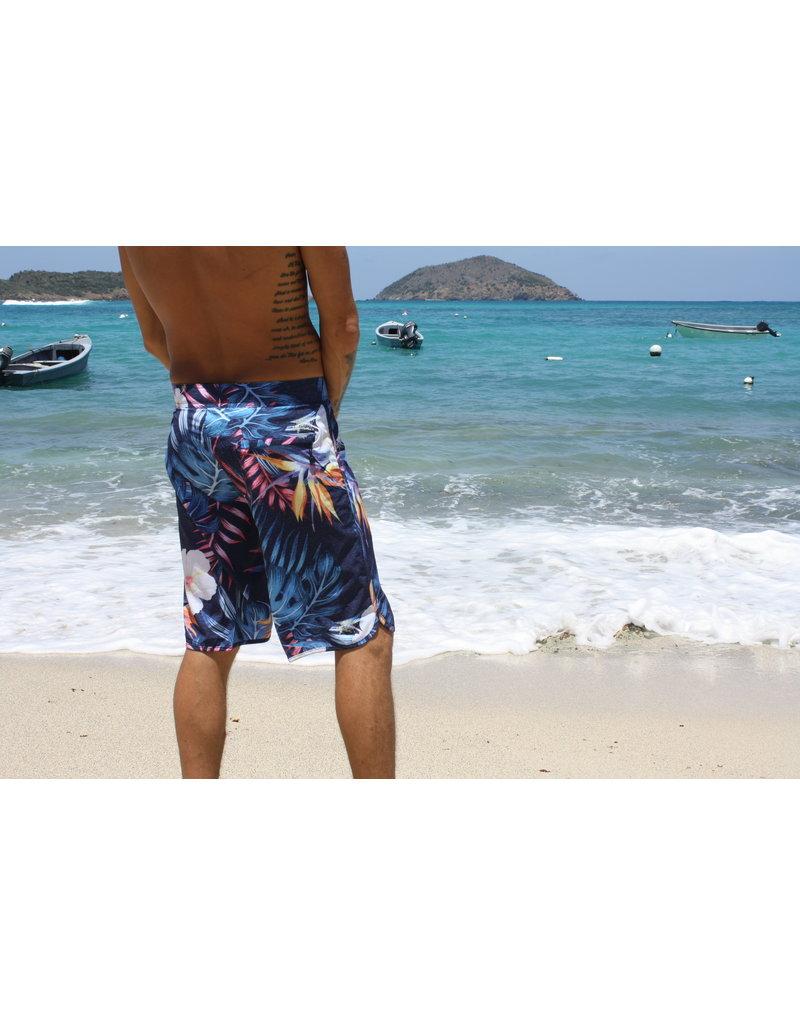 Ocean Surfari BB-B09 Board Shorts Navy