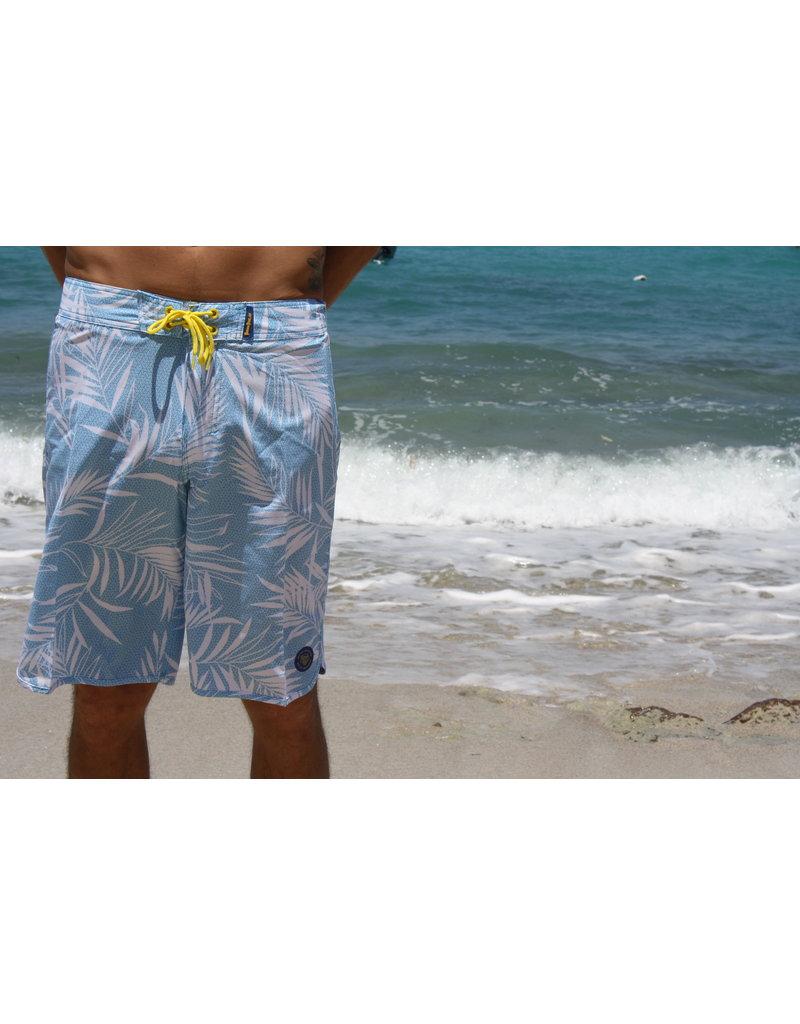 Ocean Surfari BB-B13 Board Shorts Lt Blue