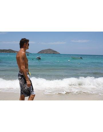 Ocean Surfari BB-B09 Board Shorts Black