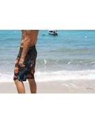 Ocean Surfari BB-B08 Board Shorts Black