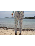 Ocean Surfari Ladies Tie Dye Hacci Jogger Saltwater