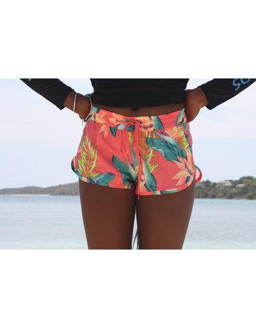 Ocean Surfari Lad Paradise Short Coral