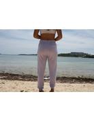 Ocean Surfari Ladies Hacci Front Tie Jogger Lilac