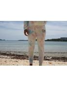 Ocean Surfari Ladies Tie Dye Hacci Jogger Sunkissed