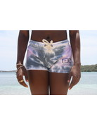 Ocean Surfari Ladies Tie Dye Burnout Shorts Cali Swirl